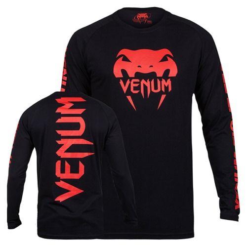 T-shirt VENUM PRO TEAM 2.0 Red Devil manica lunga
