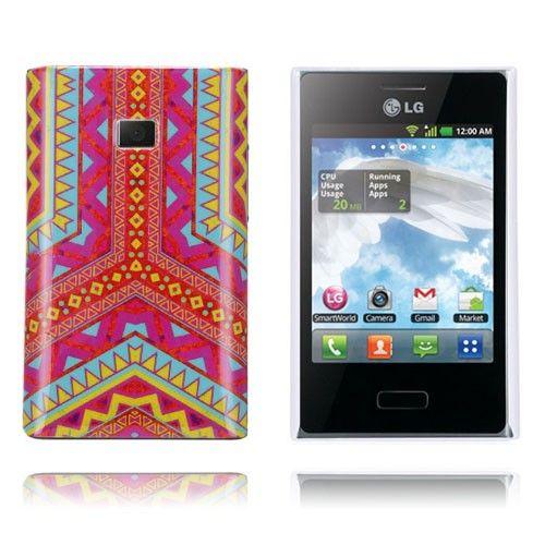 Optical (Rød) LG Optimus L3 Cover