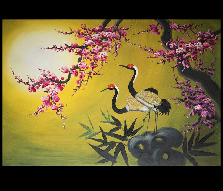 feng shui paintings for office. Asian Painting, Wall Art, Artwork, Feng Shui Painting For Home And Office Decorating, Original Hand Painted. Paintings T