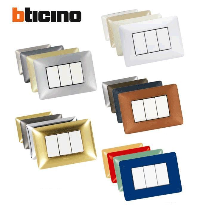 112 best images about bticino living light axolute matix e for Placche interruttori