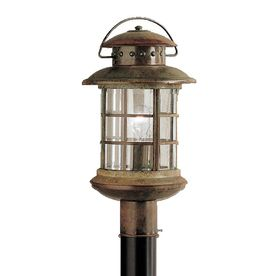 Kichler Lighting Rustic 18.5-In H Rustic Post Light 9962Rst