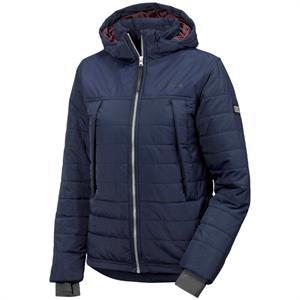 Smart kviltet jakke - dyne jakke fra Didriksons Wilson Marineblå.