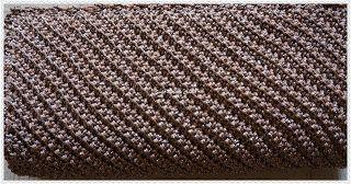 Sweet Nothings Crochet Smashing diagonal clutch purse