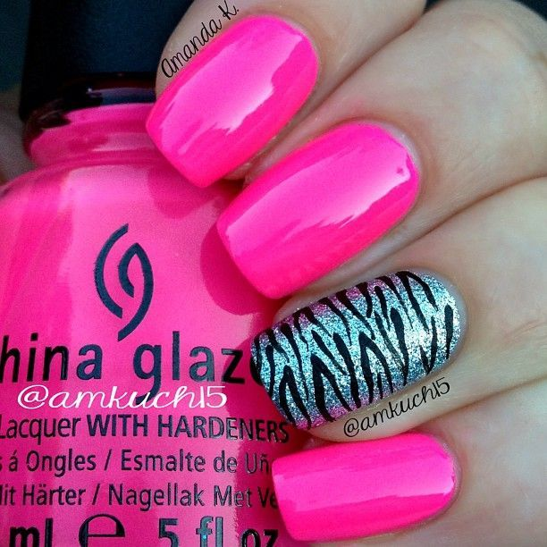 25 beautiful zebra print nails ideas on pinterest zebra nail 22 zebra print nail designs nail designs for you prinsesfo Choice Image