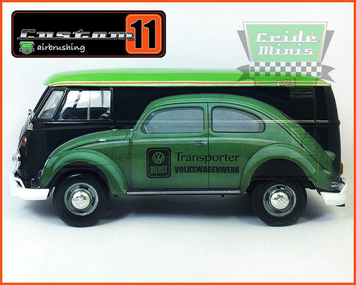 Fabricante Motormax: Miniatura na escala 1/24, partes móveis e pneus de borracha. CUSTOMIZADA PELA CUSTOM11.