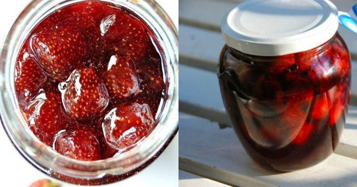 5 необычных рецептов клубничного варенья / Едальня