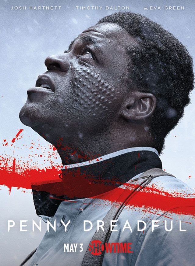 Exclusive: Timothy Dalton is in pain in new 'Penny Dreadful' character posters. Plus: Sembene looks to the heavens