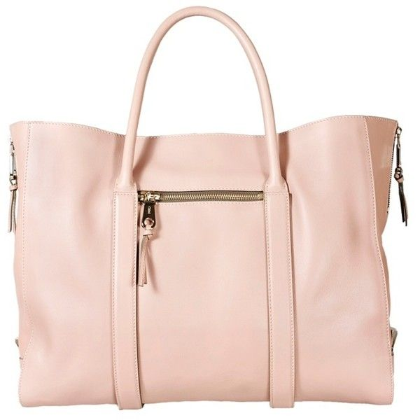 CHLOÉ Madeleine Bag ($2,120) -- Can no one make a pale pink bag that doesn't cost more than it would take to feed a family for a year?