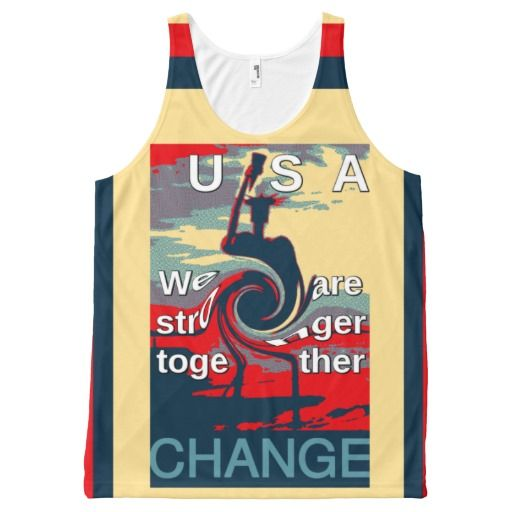 We are stronger together USA Hope Tank Top All-Over Print Tank Top #We #are #stronger #together #USA #Hope #Tank #Top #All-Over #Print #Tank #Top