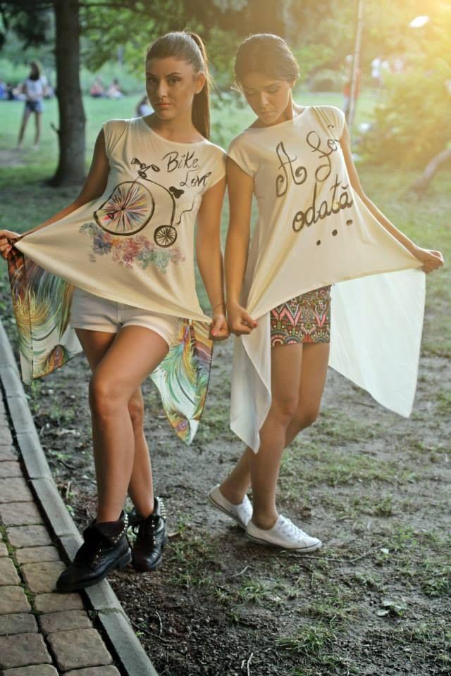 Handpainted blouses