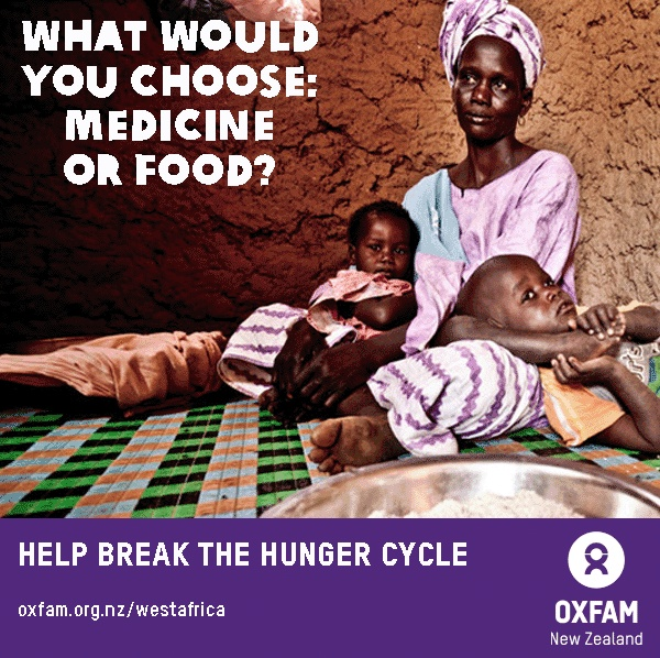 What would you choose: medicine, or food? The dilemma facing millions in West Africa. #Sahel2012