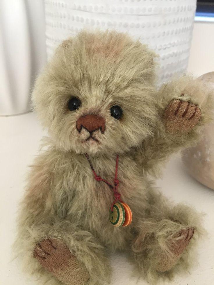 Gumdrop Minimo Mohair Teddy Bear
