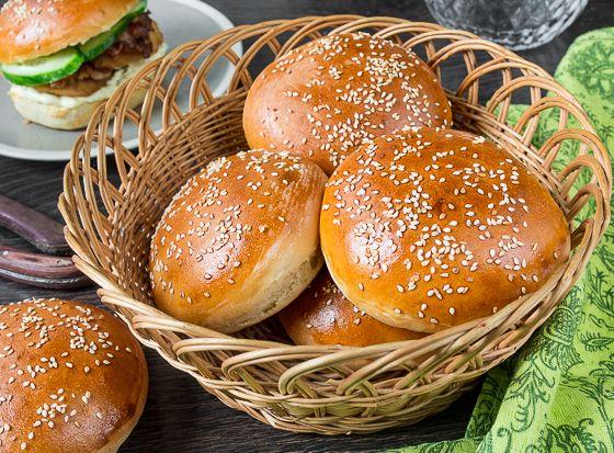Булочки для бургеров - вкусные проверенные рецепты, подбор рецептов по продуктам, консультации шеф-повара, пошаговые фото, списки покупок на VkusnyBlog.Ru