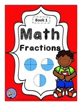 Beginning to Learn About Fractions takes students through the process of learning about equal parts of a whole, what a fraction is in words (halves, thirds, quaters, etc.) and pictures (including various shapes and fraction strips) and using fractions to describe equal parts of a whole.#fractions, #math, #fractionconcept, mathpractice