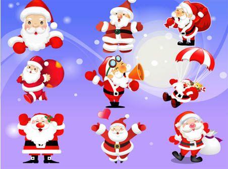 Free Vector Santa Claus