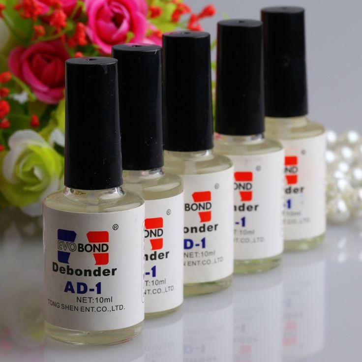 High Quality Pro 10ml Individual False Eyelash Adhesive Glue Remover Liquid Debonder Nail Glue Remover Hot Sale