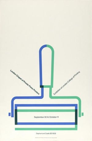 Tom Eckersley, LCP Exhibition poster