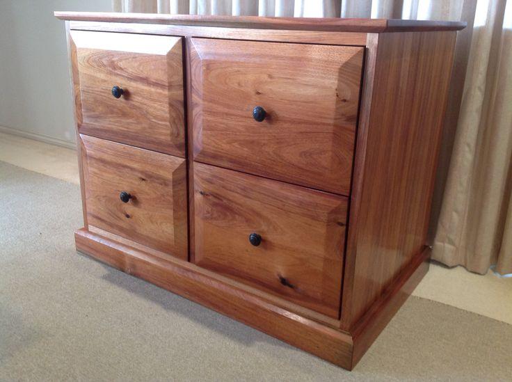 Blackwood filing cabinet