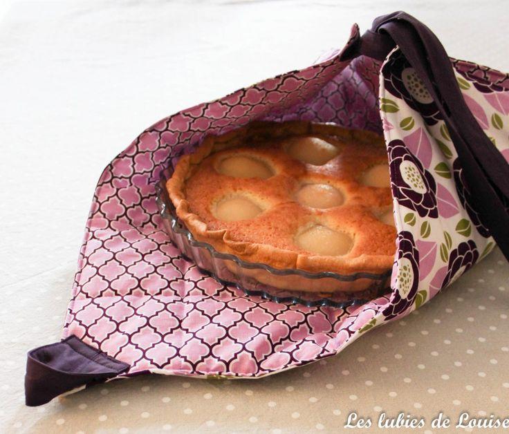 TuTo : Un sac à tarte facile et original {DIY}