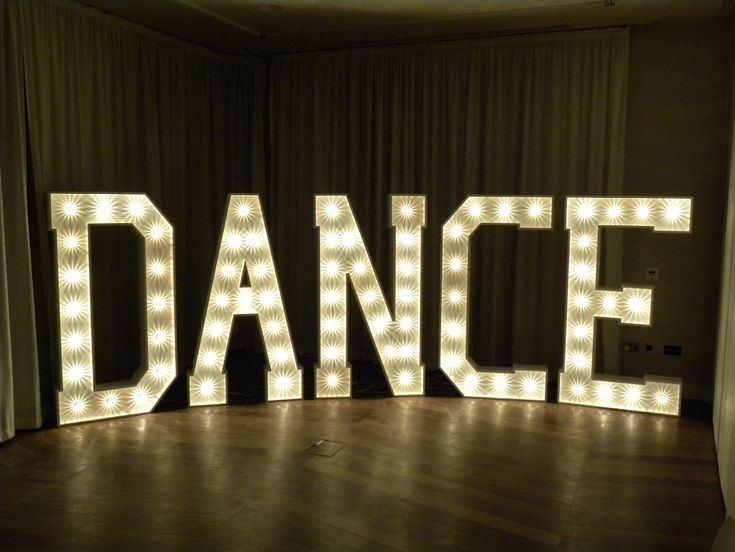 GIANT LETTERS, COOL! 1930's style personalised letters, names - wedding dance floor decoration - MUST HAVE