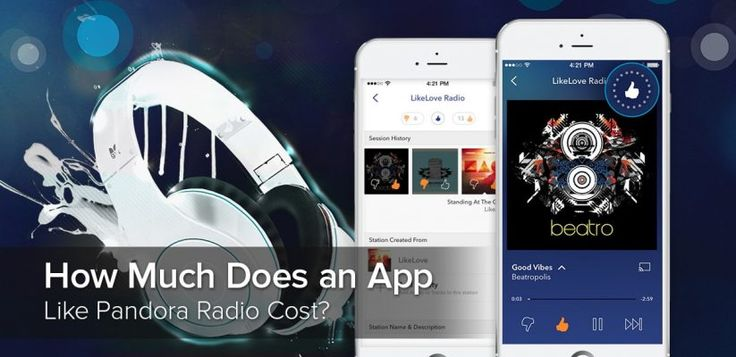 Cost an App Like Pandora Radio Thinking of making an app similar to Pandora? Your future competitors, things to consider, business model, monetization and app development cost - find everything you need to know in our article.  http://erminesoft.com/how-much-does-an-app-like-pandora-radio-cost/