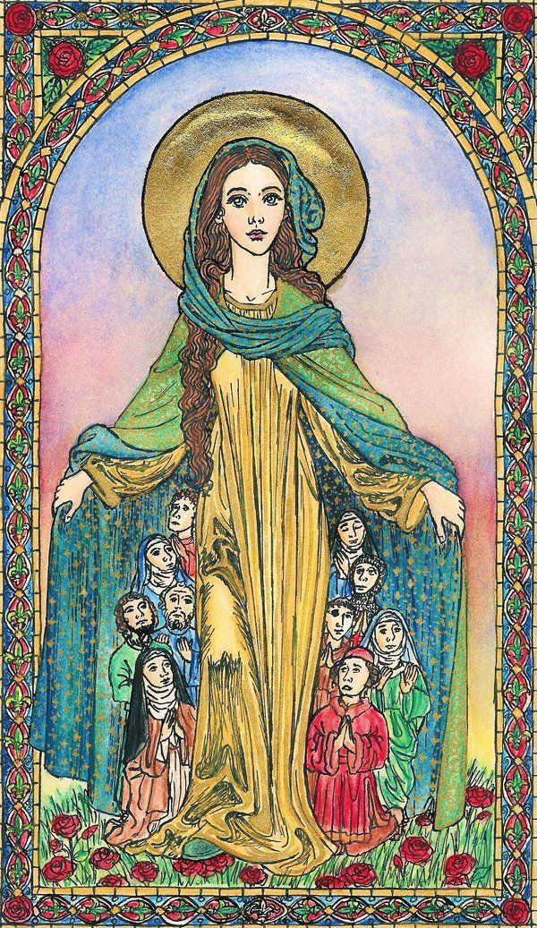 Madonna of Mercy by ~Theophilia on deviantART
