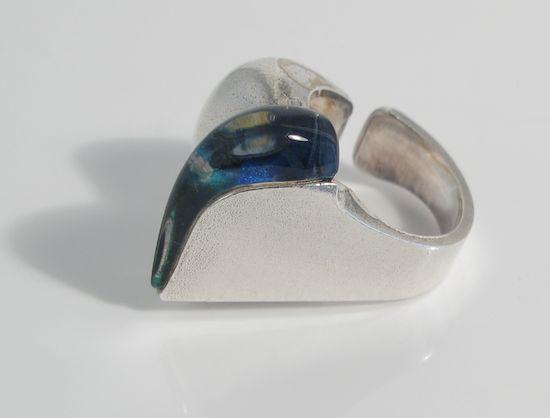 Darina's Tear ring by Bjorn Weckstrom