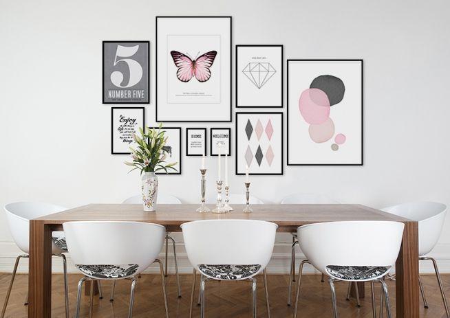 10 tips på hur du skapar din tavelvägg: Tavlor och väggdekorationer - Roomly.se