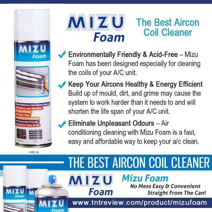 Authorized retailer of Mizu Foam in Australia. To order, please visit our website at http://tntreview.com/product/mizufoam/. Free shipping in Australia. #MizuFoam #MizuFoamAirconditionerCleaner #Aircleaner #Aircon #MizuFoamAustralia