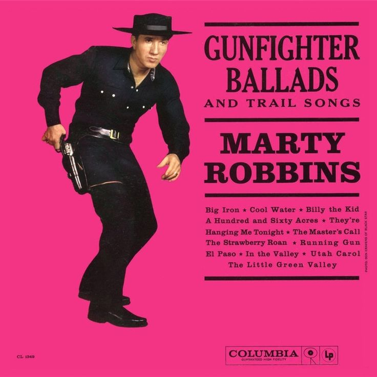 Marty Robbins - Gunfighter Ballads And Trail Songs on Limited Edition 180g Mono LP