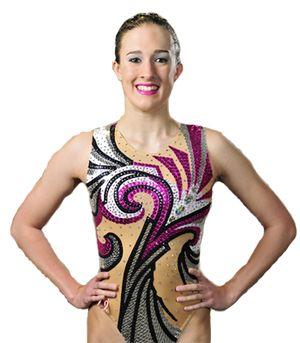 Katie Clark - Synchronised Swimming. Duet.