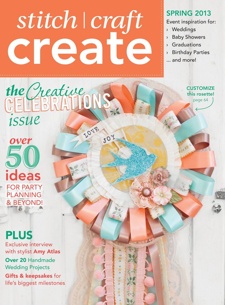 """Spring 2013 issue is all about """"Creative Celebrations"""""""