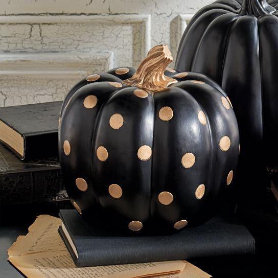 Modern Halloween Decor: Best 25+ Gold Pumpkin Ideas On Pinterest