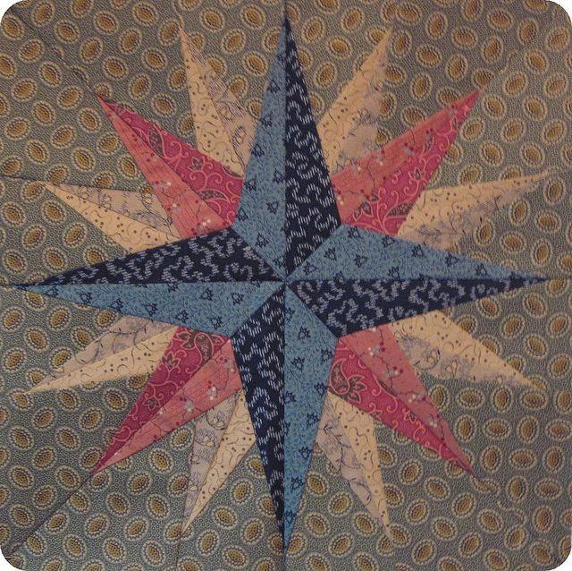 mariner's compass quilt pattern | Mariner's Compass | Flickr - Photo Sharing!