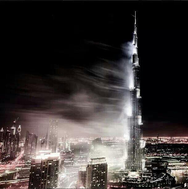 Foggy Burj Khalifa !
