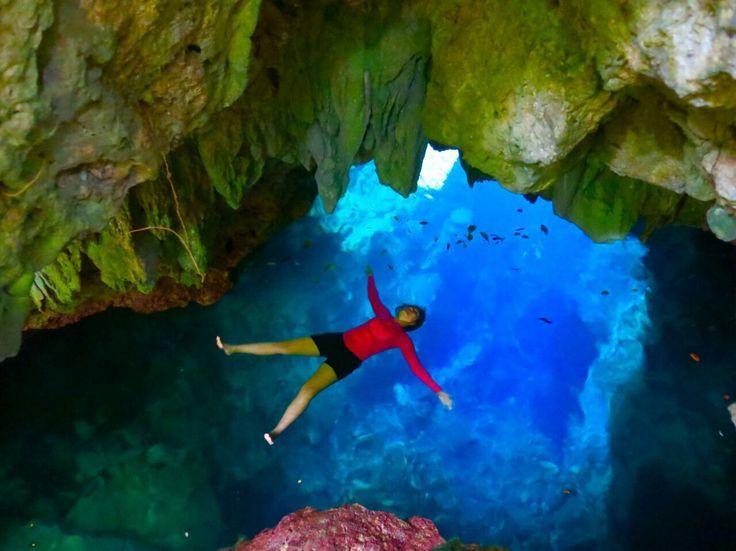 Water Cave at Maratua island, Derawan archiepelago www.kakaban.co.id