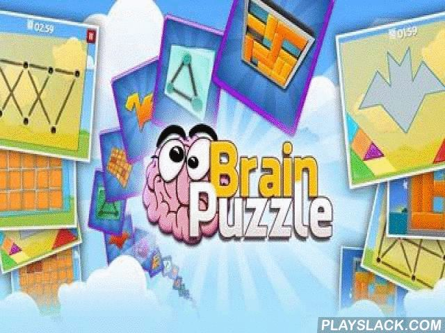 Brain Puzzle  Android Game - playslack.com , If you like to disburse time with merit, this awesome game is precisely for you. It accumulated  in itself a set of different problems. You should have intelligence, reasoning, and attention to pass all levels on 3 stars.