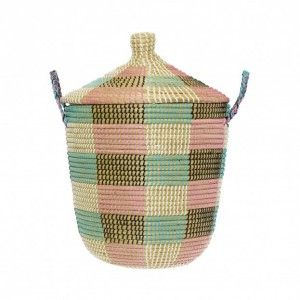 The perfect laundry basket or laundry storage basket - our Code Basket available to buy from everythingbegins.com with worldwide shipping.