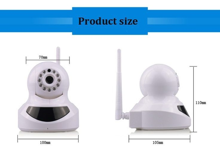 52.00$  Buy now - http://alixow.worldwells.pw/go.php?t=32290196492 - Free shipping HK 720P Wifi Wireless IP Camera Baby Monitor P2P Pan/Tilt CCTV Camera For Home Secuirty Camera IP PTZ Camera 52.00$