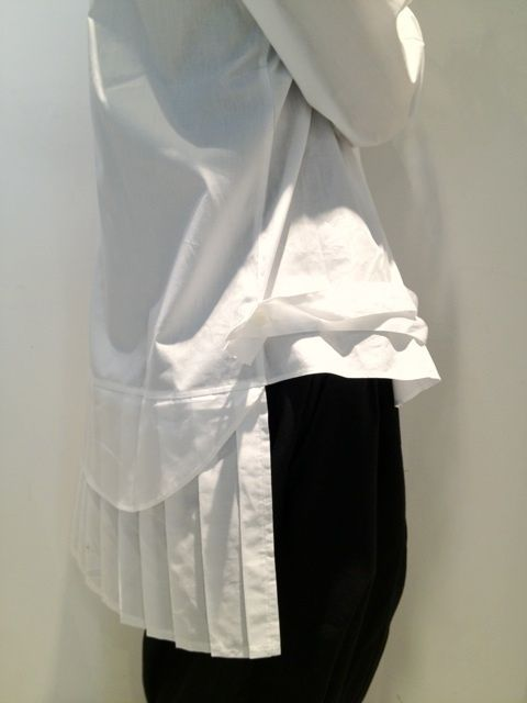 Shirt Detail, pleated back