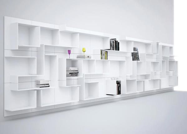 32 best library images on Pinterest Bookshelves, Bookcases and - designer regale ricard mollon