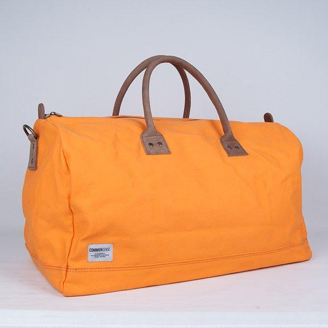 Per / Weekendbag. orange