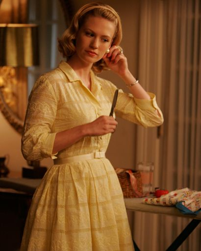 Mad Men's Fashion for Females - Get more Entertainment News on ELLE.com