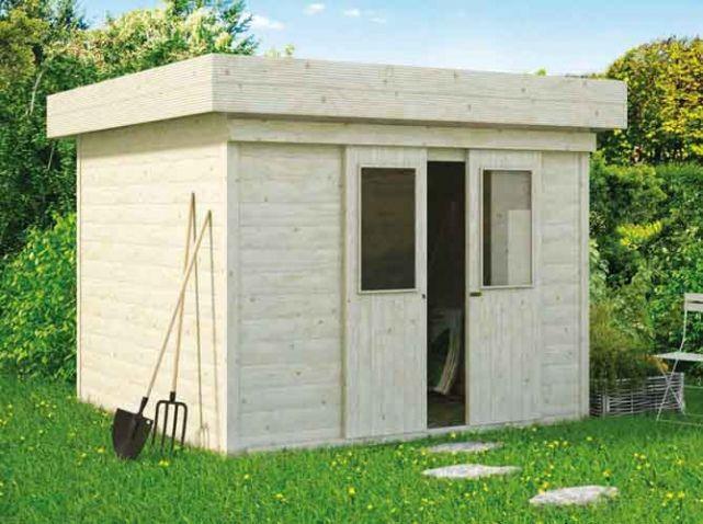 17 meilleures id es propos de abri jardin toit plat sur for Abris de jardin toit plat belgique