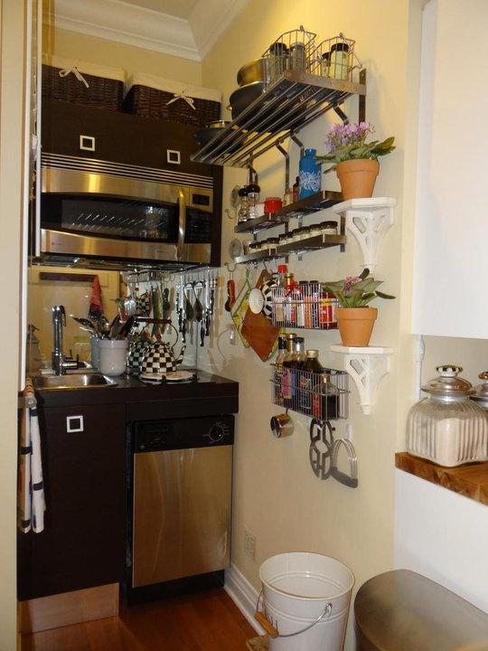 Ultra compact tiny kitchen  - Small Cool Kitchens 2012 - thekitchn.com