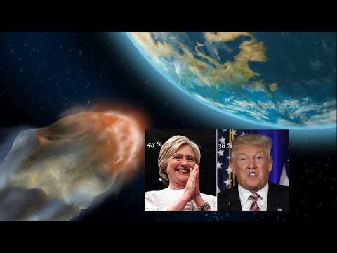 13 Percent Prefer Meteor Hitting Earth Over Clinton, Trump - 2016 Presidential Election Poll - Fusion Laced Illusions