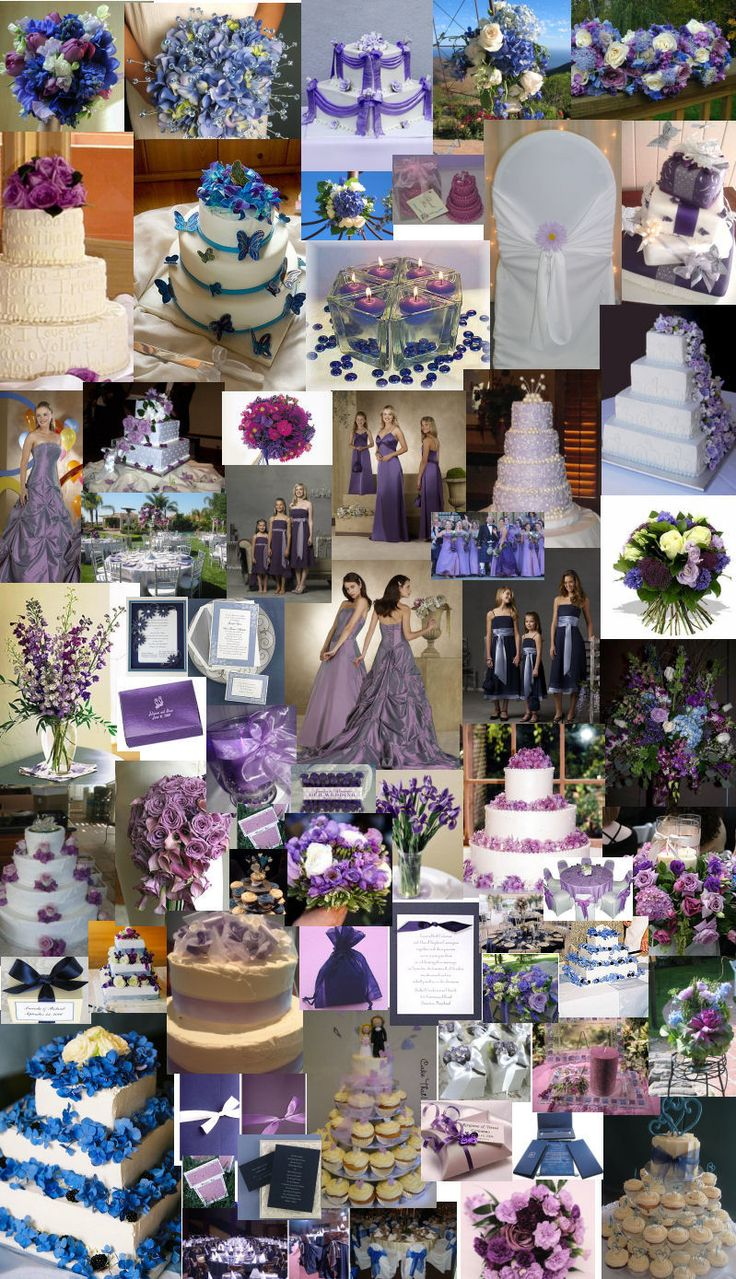 131 best Blue & Purple Wedding Theme images on Pinterest ...