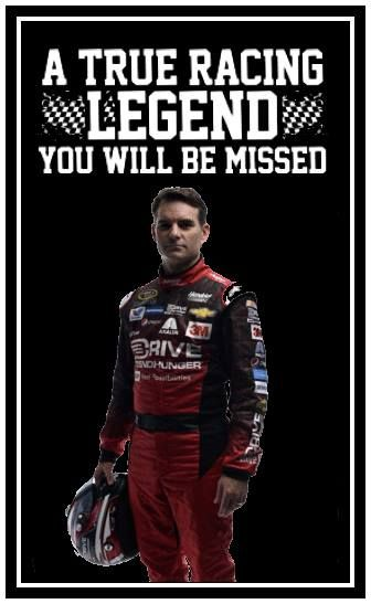 Nascar will not be the same without him!,