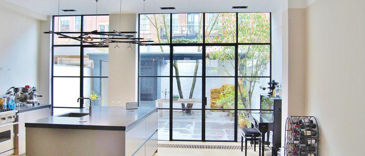 STEEL DESIGN® deuren   De uitstraling van staal, de voordelen van aluminium