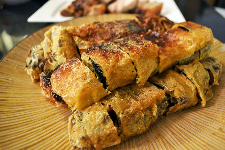 vegan: tofu skin rolls | Yuba | Pinterest | Tigres ...